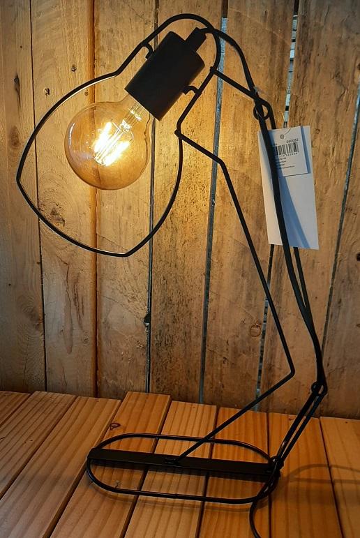 Tafellamp draadmetaal