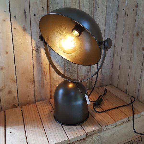 Tafellamp Ivan metaal 31 x 21,5 x 44,5 cm