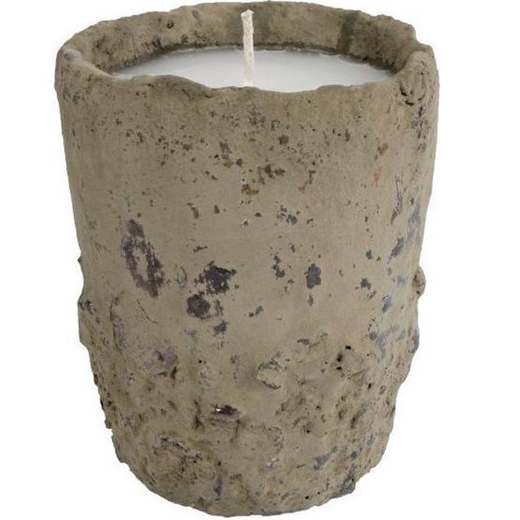 Gifts Amsterdam Kaars In Pot Bruce 15,5 X 12 Cm Steen Taupe